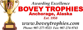 Bovey Trophies - anchorage, alaska, trophies, trofies, trophy, trofy, trofie, awards, recognize, recognition, acrylic, engrave, engraver, sandblasting, sandblast, laser, laser engraving, bovey trophies, bovee trophies, bovie trophies, bovey trofy, bovey trofies, bovee trophy, bovee trofies, bovie trofies, wood engraving, glass engraving, acrylic awards, plastic awards, cast bronze, plaques, medals, metals, trophy shop, trophy shops, trofy shops, trophie shops, engravers, engraving, trophy shop anchorage, trophy